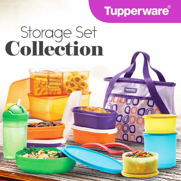 Tupperware Summer Collection [snack store/treasure set/snack it/tiwi kidz]