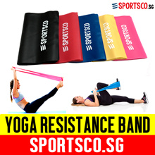 ⏰⚡Premium Yoga Resistance Band ☘ 5 Level Color Coded Progressive Exercise ☘ SG Seller ☘ Fast Ship ☘