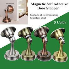 Door Stopper Magnetic Self Adhesive Door Stopper Door Holder Home Decoration Curtain Stainless Steel