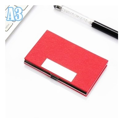 Buy sg seller free engraving name namecard holder personalized a3red reheart Gallery