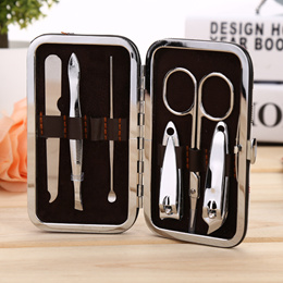 7 in 1 Manicure Set Nail Care Tools Finger Nail Cutter Clipper File Scissor Tweezers nailclippers
