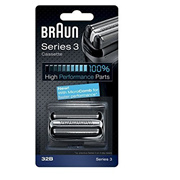Braun Series 3 Combi 32b Foil And Cutter Replacement Pack, with SmartFoil Technology Captures Hair G