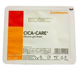 SMITH NEPHEW INC. Cica-Care Silicone Gel Sheeting 12cm x 15cm