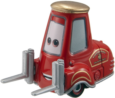 Qoo10 Tomica Takara Tomy Disney Cars 2 Guido Fire Forklift Car