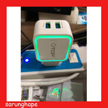 Charger LED Dual Output Xiaomi Samsung Oppo Asus 3.1A Kabel Micro USB