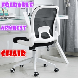 ◆Foldable armrest Home Computer Chair◆foldable Office Chair★meeting study chair
