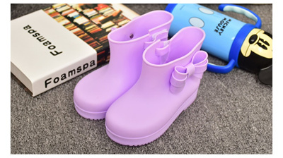 a8efb5c5276c Children Boots Mini Sed Rhino Girls Rainboots Duck Jelly Shoes Boys Rain  Boots Short Water Shoes