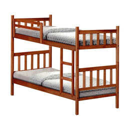 Solid Wood Double Decker Bed Frame by HOMMAGE™