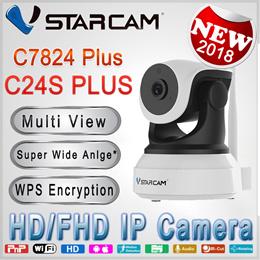 Authentic Vstarcam 1080P C24S 120° Ultra Wide Angle IP Camera/ 7824plus 720P HD Wireless Camera