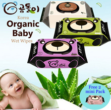 15sep restock Gomdoli ♥Premium Quality♥ Korean Organic Wet Wipes/ Wet Tissue / Made in Korea
