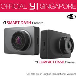 [Official Xiaoyi SG]★English International Version XiaoYi YI Dash Camera Car DVR XiaoMi★12 Months W