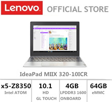 Lenovo|IdeaPad Miix 320|10.1 HD|Z8350|PLATINUM|1 Year Local Warranty