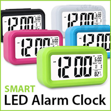 CHEAPEST GUARANTEED ★ Smart LED Digital Alarm Clock ★ Big Screen LED Light Sensor Motion Control