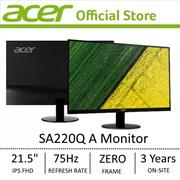 Acer SA220Q A 21.5-Inch FHD IPS Ultra-thin Monitor