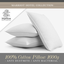 Marriott Hotel Collection 100% Cotton Pillow 1600g