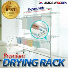 * ◆ Expandable 4-Layer Laundry Drying Rack ◆ laundry rack / laundry basket pole hanger