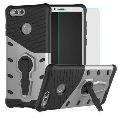 size 40 58a51 a6a31 Best Alice Huawei Honor 7X Case, Mate SE Case, BestAlice Hybrid Heavy Duty  Protection Shockproof Def