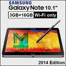 [Ready Stock] Samsung Galaxy Note 10.1 / 2014 Edition / Wi-Fi only / 3GB RAM / 16GB 32GB ROM