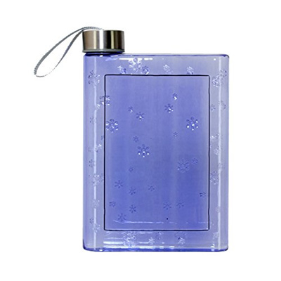 Flat Water Bottle >> Qoo10 Flat Water Bottle Reusable Bpa Free Plastic Best For