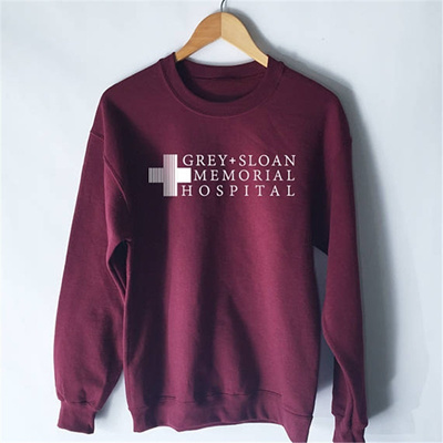 Qoo10 Grey Sloan Memorial Hospital Women Sweatshirt Grey Anatomy