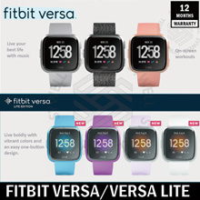 [1 Year Warranty] Fitbit Versa Smart Watch One Size(S and L Bands)