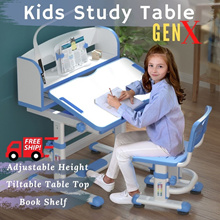 Children Ergonomic Study Table + Chair! Newly Added Features Kids Table * FREE 6 MONTHS WARRANTY