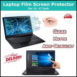 ★Laptop PET Film Screen Protector★11.6•13.3•14•15.6•17 Inch - Clear • Matte • Anti-Bluelight