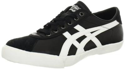 check out a48b9 e610b Onitsuka Tiger Rotation 77 Fashion Sneaker,Black/White,5.5 M US Womens/4 M  US Mens