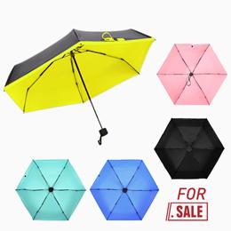 MINI POCKET UMBRELLA/Ultralight Portable UV Protection Mini Pocket Umbrella Outdoor Wind-Proof