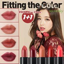 【Secret Key HQ】 MLBB MATTE LIP 2018 NEW COLOUR 💋1+1💋 Fitting Forever MLBB Semi matt Lipstick