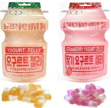 ☆yogurt jelly X 5 pack set★Recent production korea Lotte 7-eleven /original/strawberry big hit
