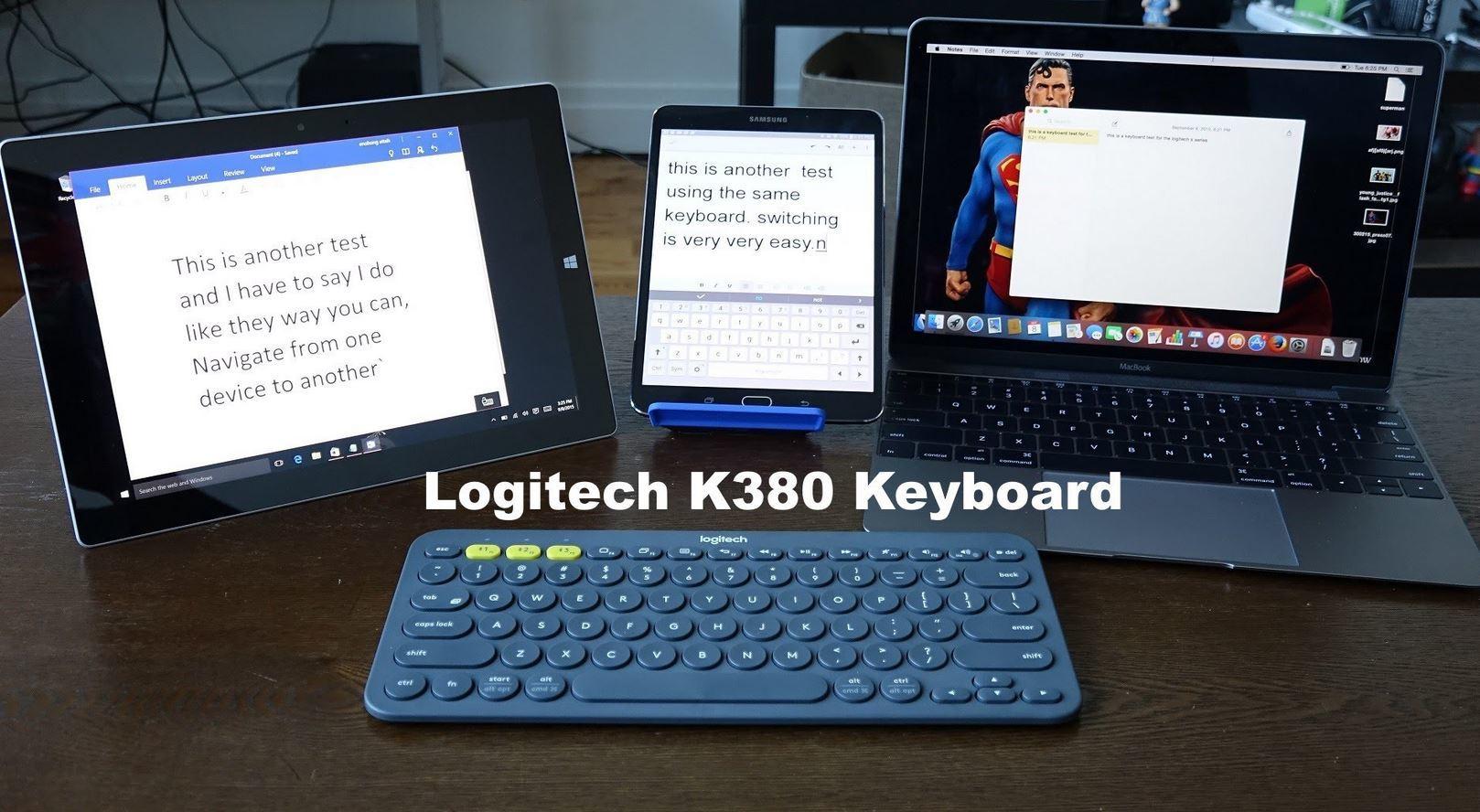 LogitechLogitech K480 / K380 Bluetooth Keyboard Multi-Device 920-006380  Singapore stock local warranty Samsu