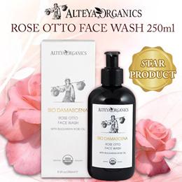Organic ROSE FACE WASH 🌸  AWARD WINNING ROSE FACE WASH ALTEYA ORGANIC