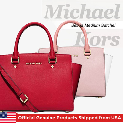 Michael Kors[Michael Kors] 2016 New Launch in Qoo10 Michael Kors Selma Medium Satchel Official Genuine Products Shipped from USA