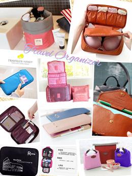 Travel Bag Organizer Multi Purpose Pouch Passport holder