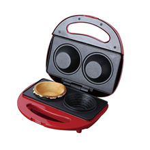 Roommate twin cup cake hot sand maker waffle baker d001