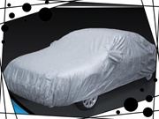 Universal Resistant Waterproof Outdoor Full Car Cover Aganist Anti UV Rain Snow (Size: One Size)
