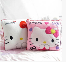 hello kitty cute Hello Kitty pillow creative office nap pillow cushions couple girls gifts