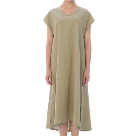 ジェイケイブイロングリンネンJG6OP055B 面ワンピース/ 韓国ファッション