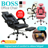 *Flash Deal* Latest Office Chair*Boss Chair w leg rest/Racer Seat Chair/high back boss/gaming chair