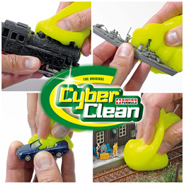 CYBER CLEAN★Swiss Formula 99.9% BACTERICIDAL Effect. Environmental Friendly. Trap Bacteria / Multiple Times Re-usability. Clean Mobile Phones, Keyboard, Toys, Difficult Reach Gaps n Crevices!