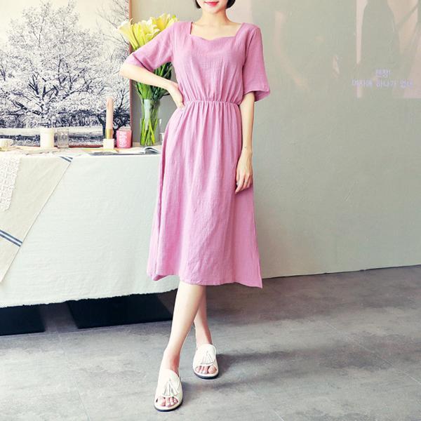 スコニワンピースnew ロング/マキシワンピース/ワンピース/韓国ファッション