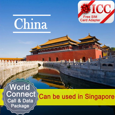 China Unicom◆ ICC◆【World Connect Sim Card】4G/3G data + Call/SMS ❤ Can be  used in Singapore + ❤ Free Gift❤