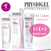 [1+1+1 Bundle] PHYSIOGEL A.I Calming Relieve Cream. Super value bundle! For eczema.