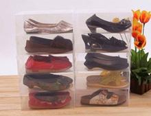 Kotak Sepatu Besar Transparan Putih Sja Sj5011155