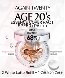 [AGE 20S] ESSENCE COVER PACT ORIGINAL (2 Refill + 1 Case)