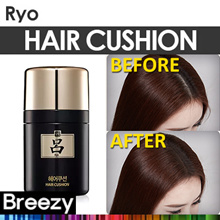 BREEZY ★ [Ryo] Hair Cushion 7g / Amorepacific / Hair Make up / Makeup / Anti Hair Loss / Brown Color / Hair Care / Korean Cosmetics / Korean Beauty / Made in Korea