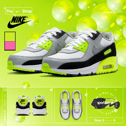 [NIKE]100% Authentic  Air max 90 LTR (GS) 2COLOR Air force1 07 Shoes