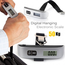 Mini Digital Luggage Scale Handheld LCD Electronic Scale Electronic Capacity 50kg