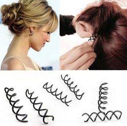 Syb 2016 New 10 Pcs Hair Ornament Barrette Bar Clips Diy Hairstyle Bobby Pin Black For Lady Women's Hair Accessories